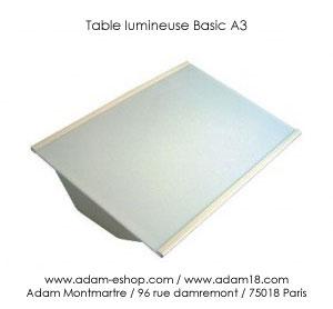 Tables Lumineuse A Led Dessin A3 Lightpad Artograph A4 Champagne